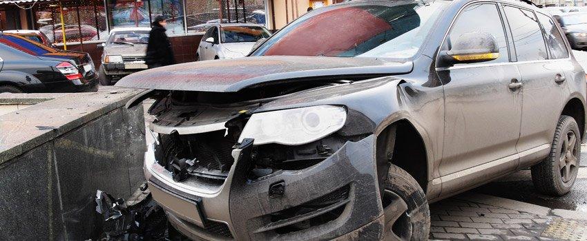Crashed Car Image